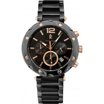 Montre Pierre Lannier 278C439 - Montre Chronographe Or Rose Homme