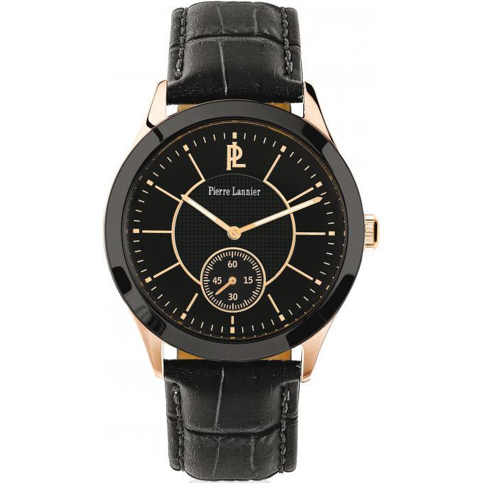 montre pierre lannier 243f033 montre cuir noire homme sur bijourama n 1 de la montre homme. Black Bedroom Furniture Sets. Home Design Ideas