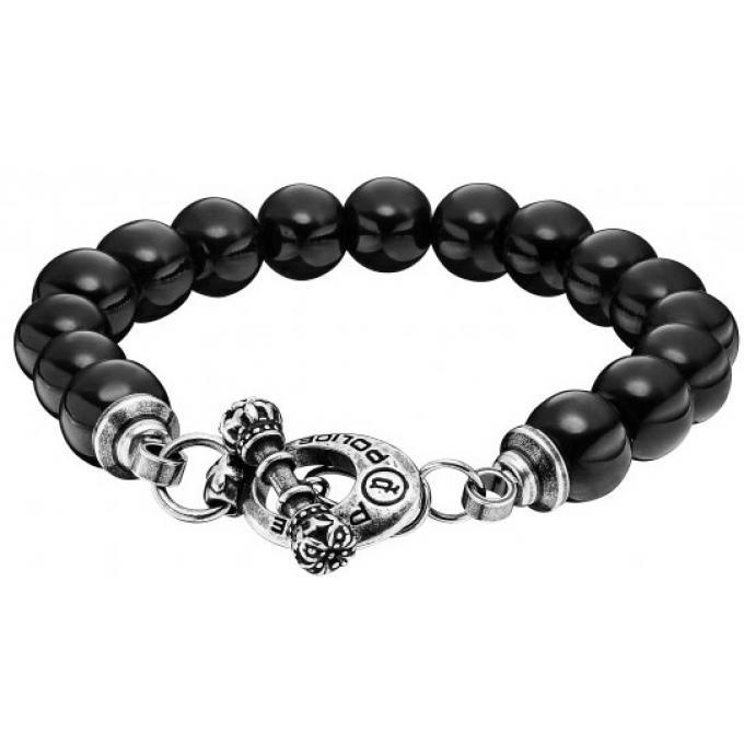 bracelet police scepter pj25529bsb01l bracelet boule noir homme sur bijourama r f rence des. Black Bedroom Furniture Sets. Home Design Ideas