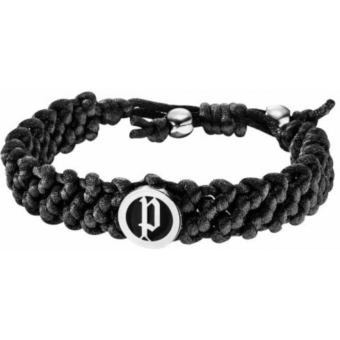 bracelet tissu tress noir police bijoux sur bijourama r f rence des bijoux homme sur internet. Black Bedroom Furniture Sets. Home Design Ideas