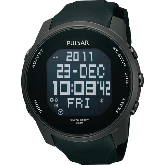 économiser jusqu'à 80% coupe classique Nouveaux produits Montre Pulsar PQ2011X - Montre Vogue Silicone Originale Homme 5/5 (1 avis)
