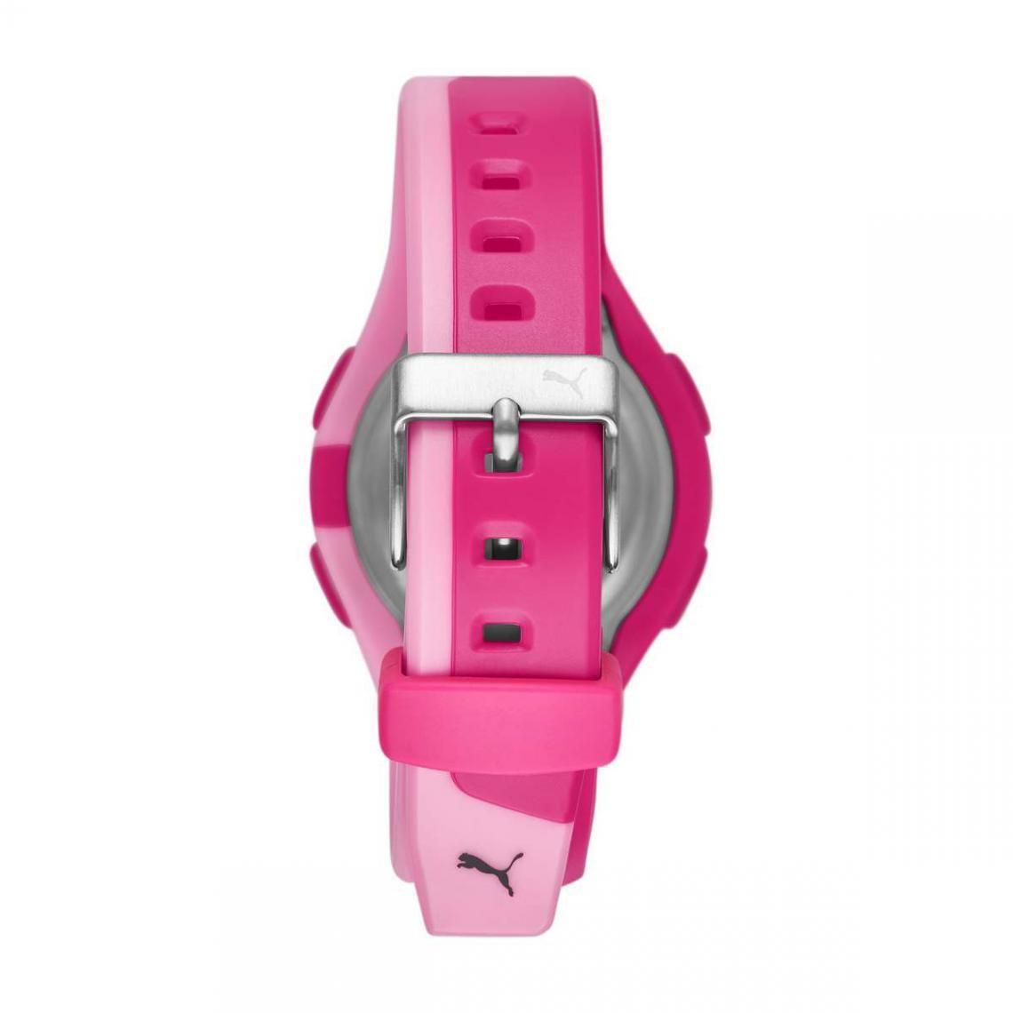 Montre femme Puma Montres P6008 - Bracelet Silicone Rose sur ...