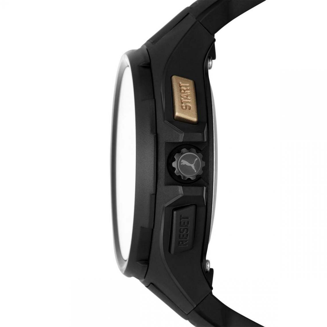 Montre Homme Puma Montres P5063 - Bracelet Silicone Noir sur ...
