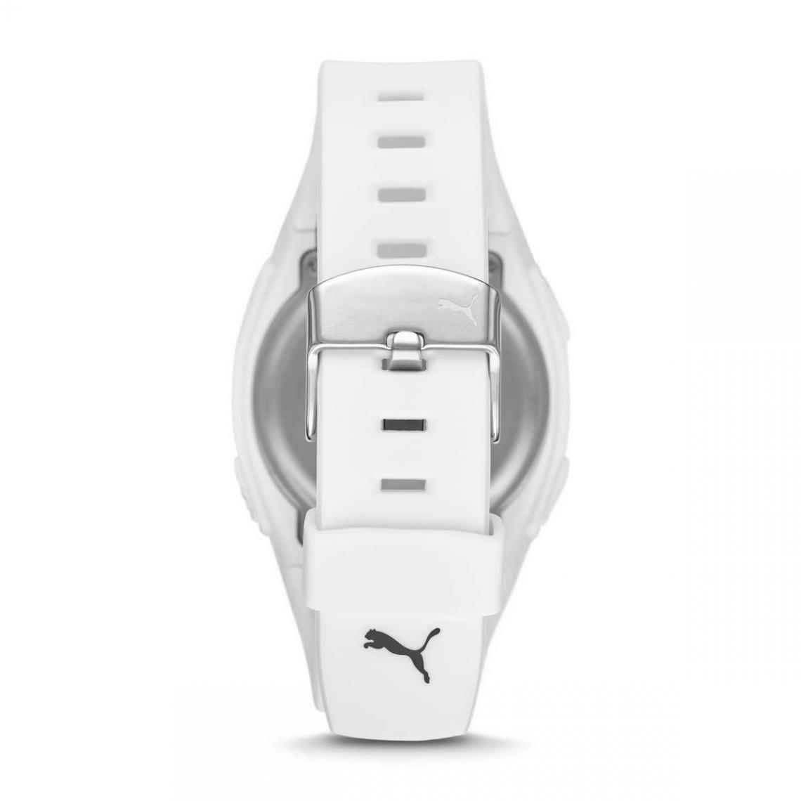 Montre Homme Puma Montres P6012 - Bracelet Silicone Blanc sur ...