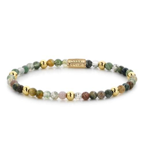 Rebel & Rose - Bracelet Femme RR-40046-G-XS Rebel & Rose - Rebel and rose bijoux