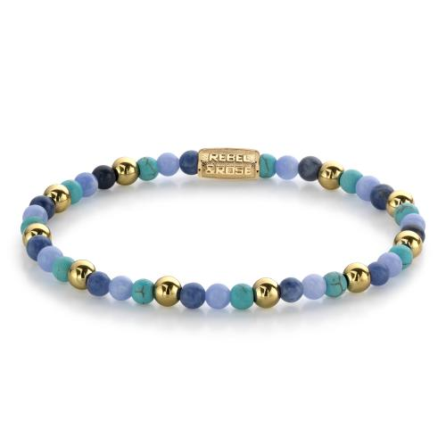 Rebel & Rose - Bracelet Femme RR-40055-G-XS Rebel & Rose - Rebel and rose bijoux
