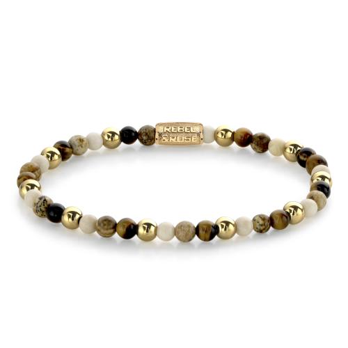 Rebel & Rose - Bracelet Femme RR-40057-G-XS Rebel & Rose - Rebel and rose bijoux
