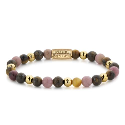 Rebel & Rose - Bracelet Femme RR-60060-G-XS Rebel & Rose  - Rebel and rose bijoux
