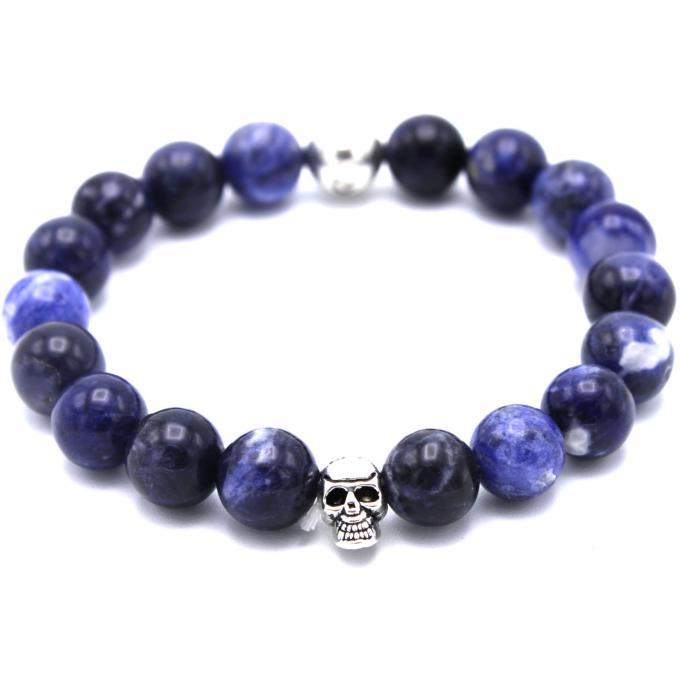 bracelet redskins 285118 bracelet perle bleu homme sur bijourama r f rence des bijoux homme. Black Bedroom Furniture Sets. Home Design Ideas