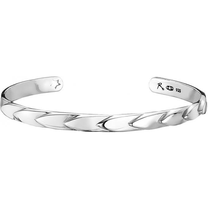 Reminiscence - Bracelet Reminiscence 1BRA320R-TUNI - Bracelet Argent Tressé Femme pas cher