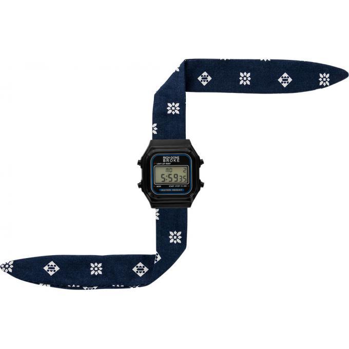 montre rich gone broke dlbabe montre tissu bleue mixte sur bijourama montre mixte pas cher. Black Bedroom Furniture Sets. Home Design Ideas