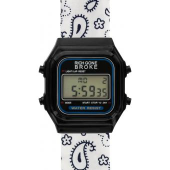 Montre Mixte Rich Gone Broke Blanc DLBNE
