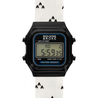 Montre Mixte Rich Gone Broke Blanc DLBPR