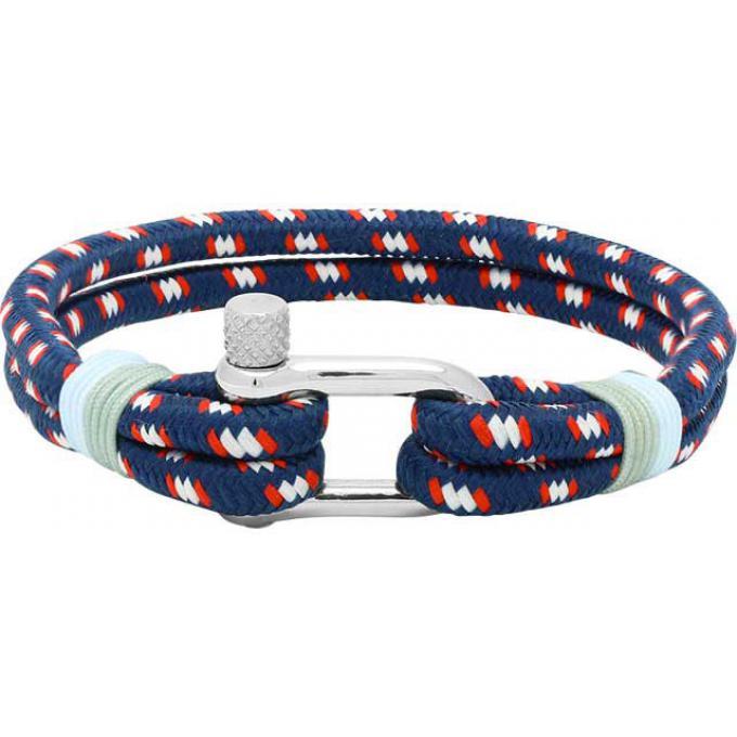 bracelet rochet winch b35268011l bracelet cable bleu blanc rouge homme sur bijourama. Black Bedroom Furniture Sets. Home Design Ideas