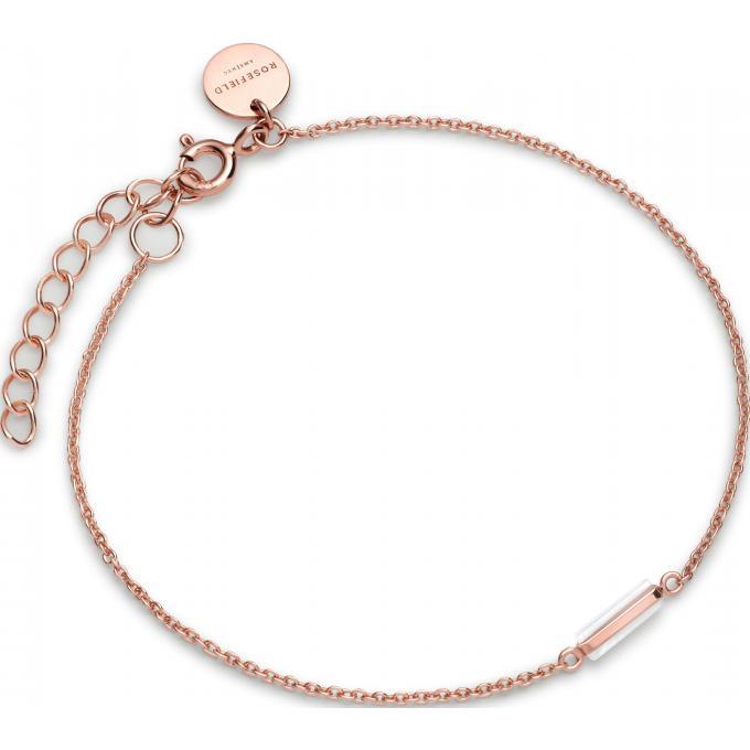 bracelet rosefield jmor j003 bracelet mott dor rose. Black Bedroom Furniture Sets. Home Design Ideas