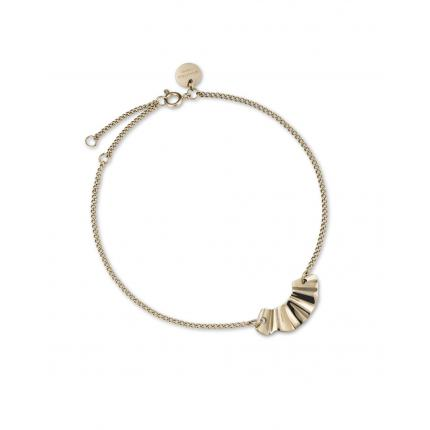Bracelet Rosefield BLWBG-J236 - Collection THE LOIS  vague doré Acier Ajustable Femme