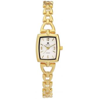 Montre Royal London 20044-04 - Montre Mordorée Rectangulaire Fine Femme