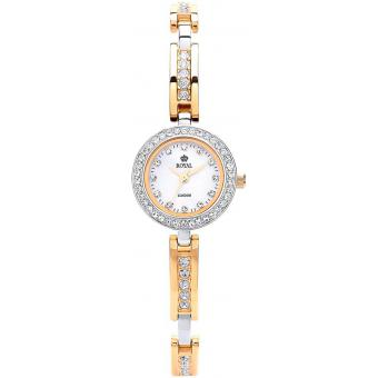 Montre Royal London 21161-03 - Montre Bicolore Chic Brillante Femme