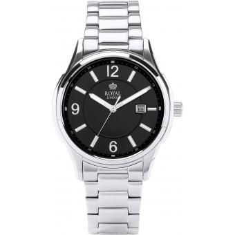 Montre Royal London 41222-06 - Montre Acier Argentée Brillante Homme