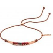 Bracelet Kate Cordon Chocolat - Satellite