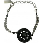Bracelet Noir Montmartre - Satellite