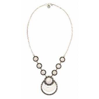 Collier Scooter Sienna SCF601060 - Collier Pendants Ronds Acier Femme