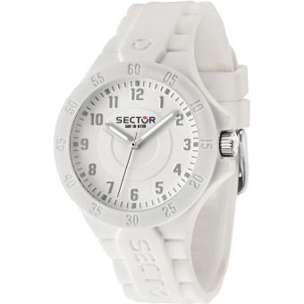 Montre Sector Steeltouch R3251586010 - Montre Silicone Blanche Homme