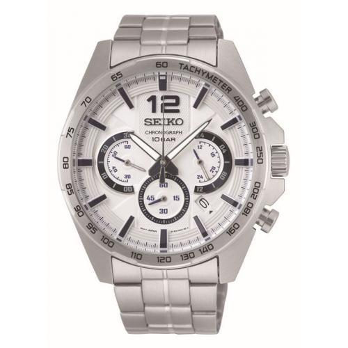 Montre Seiko SSB343P1 SPORT Chronographe,Dateur Bracelet Acier Argent()