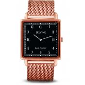 Selvine - Montre Selvine SOLY6 - Montre Or Rose