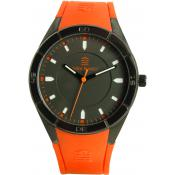Montre Serge Blanco Silicone Orange SB1095-5