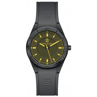 Montre Serge Blanco All Colors SB1095-8 - Montre Silicone Verte Homme