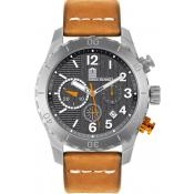 Montre Serge Blanco Orange Surpiqué SB1141-92