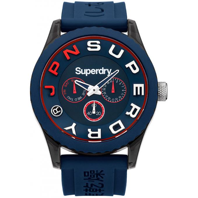 montre superdry syg170u montre bleue chronographe homme sur bijourama montre homme pas cher. Black Bedroom Furniture Sets. Home Design Ideas