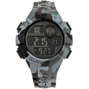 Montre Superdry Radar SYG193BE - Montre Chronographe Ronde Homme