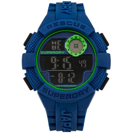 Montre Superdry Radar SYG193U - Montre Silicone Chronographe Homme