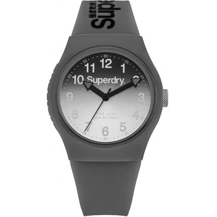 Montre Superdry Urban Laser SYG198EE - Montre Grise Dégradée Mixte