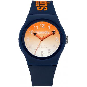 Montre Superdry Urban Laser SYG198UO - Montre Orange Dégradée Mixte