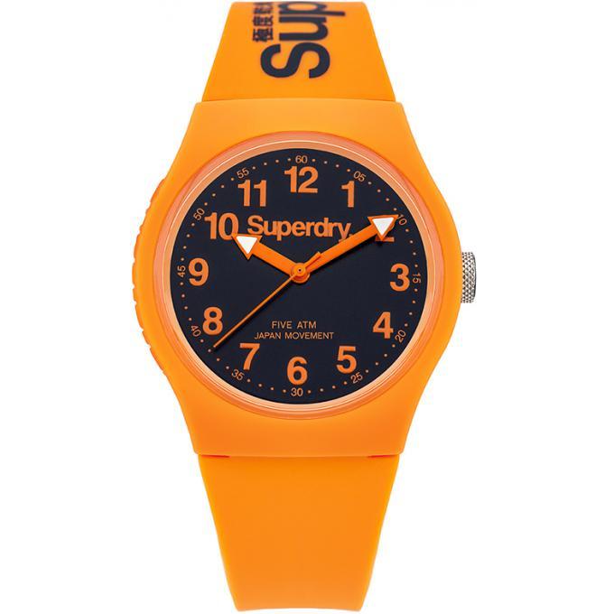 Plus Syg164o Mixte D'infos Superdry Ronde Montre Orange 0PknwON8X