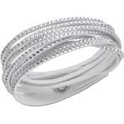 Bracelet Swarovski Bijoux Slake Gris 5181989