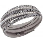 Bracelet Swarovski Bijoux Slake Gris 5021033