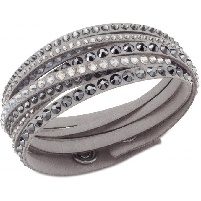 Bracelet Swarovski 5021033 , Bracelet Slake Gris Femme