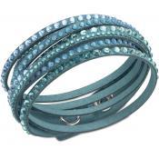 Bracelet Swarovski Bijoux Slake Bleu 5043496 - Slake