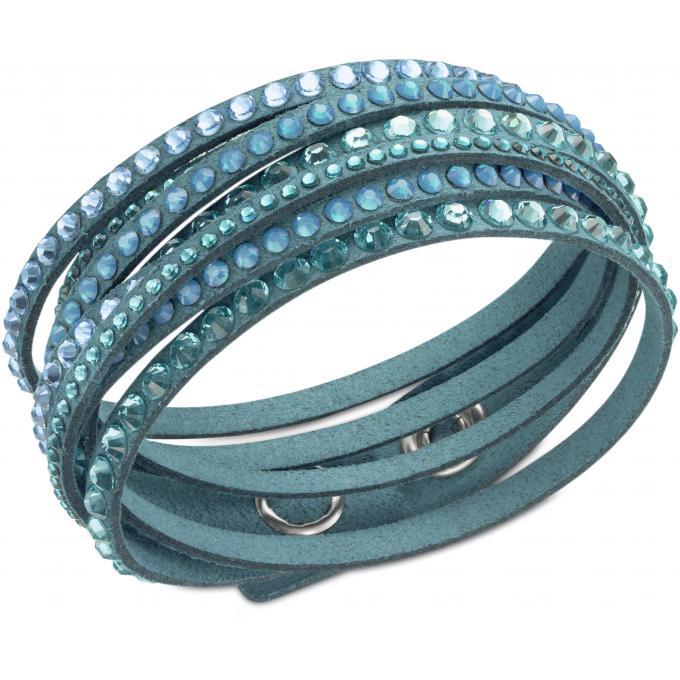 bracelet swarovski 5043496 bracelet slake bleu femme sur bijourama r f rence des bijoux femme. Black Bedroom Furniture Sets. Home Design Ideas