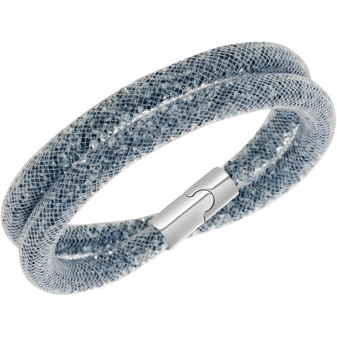 bracelet swarovski 5102554 bracelet stardust gris femme. Black Bedroom Furniture Sets. Home Design Ideas