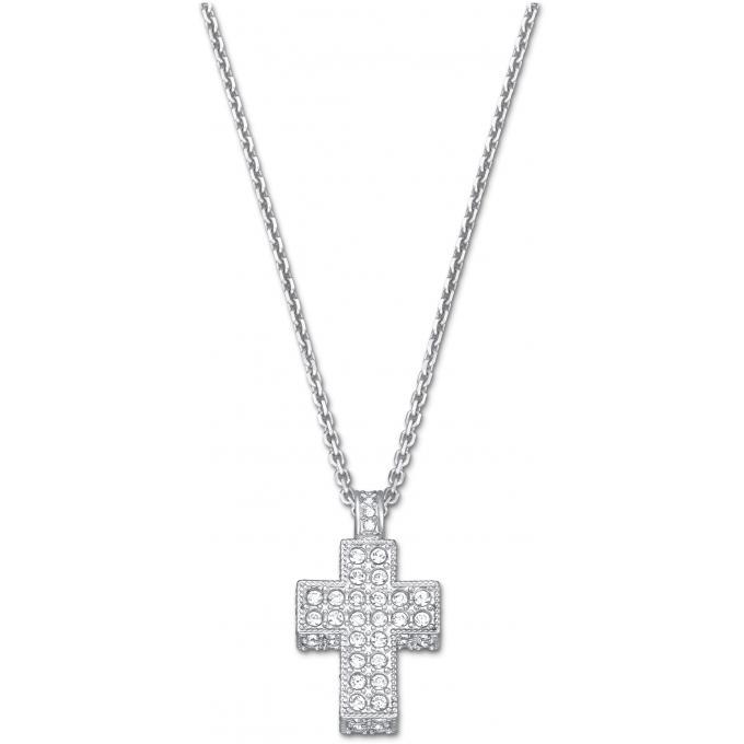 collier et pendentif swarovski 5020060 collier et pendentif croix argent femme sur bijourama. Black Bedroom Furniture Sets. Home Design Ideas