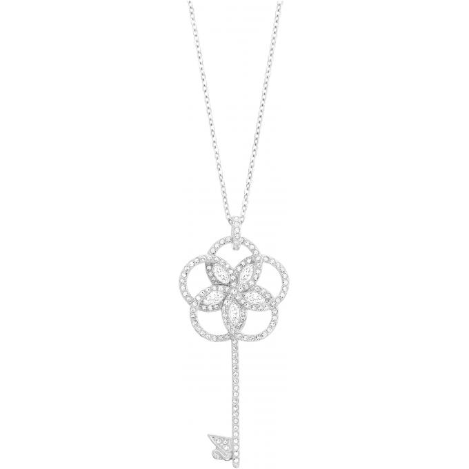 Collier et pendentif Swarovski 5070889 , Collier et pendentif Clé Cristaux Femme. Bijoux Femme