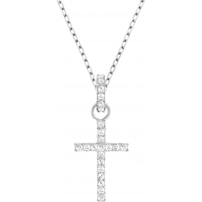 collier et pendentif swarovski 956722 collier et pendentif croix cristaux femme sur bijourama. Black Bedroom Furniture Sets. Home Design Ideas