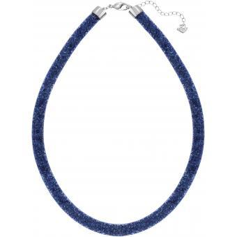 Collier Swarovski 5127503 - Collier Stardust Bleu Femme