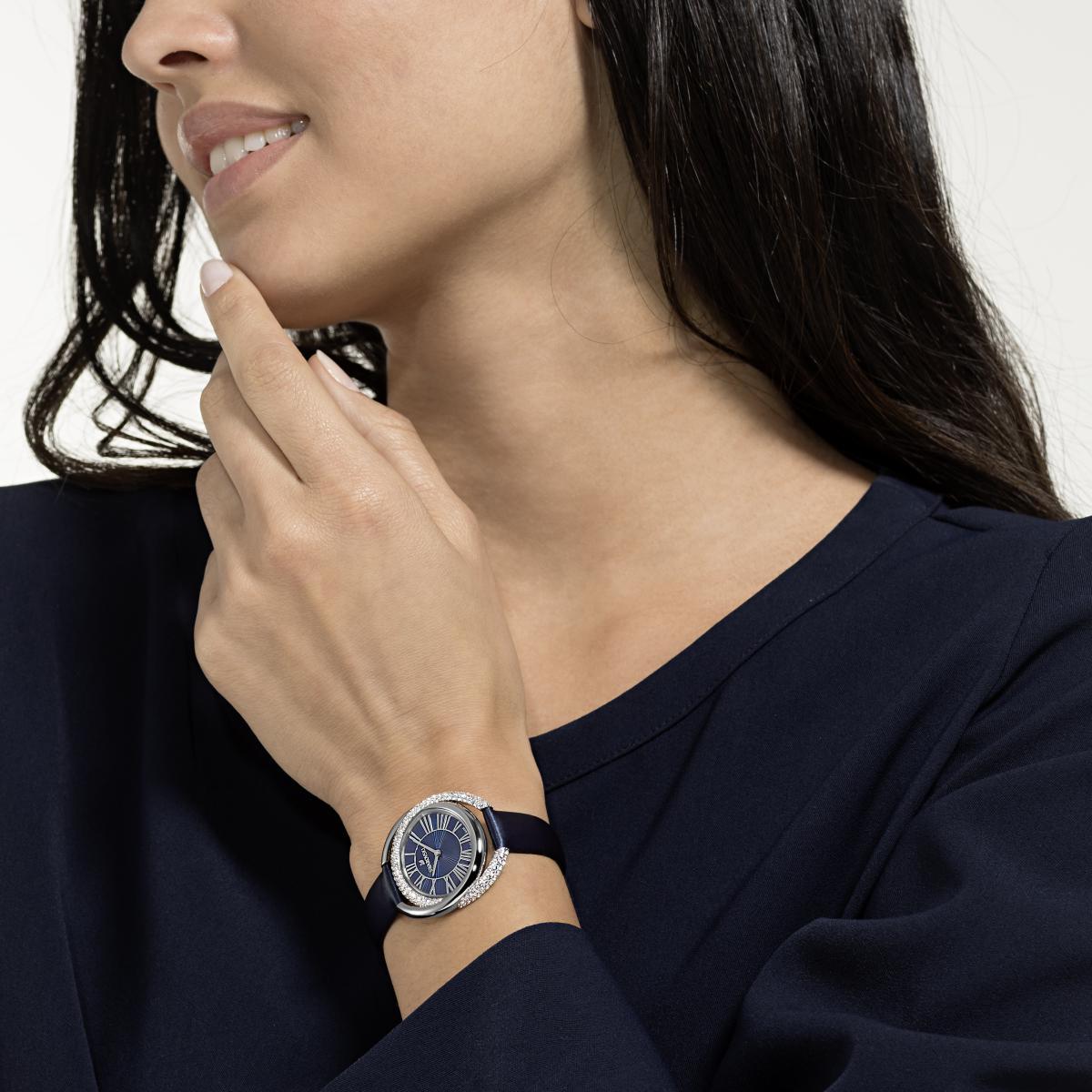 montre femme swarovski bracelet cuir