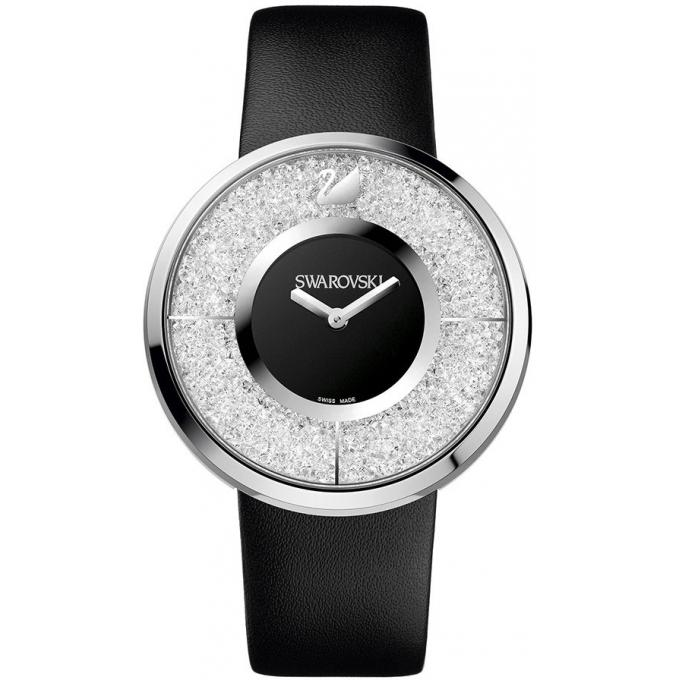 montre swarovski crystalline 1135988 montre cuir quartz femme sur bijourama montre femme pas. Black Bedroom Furniture Sets. Home Design Ideas